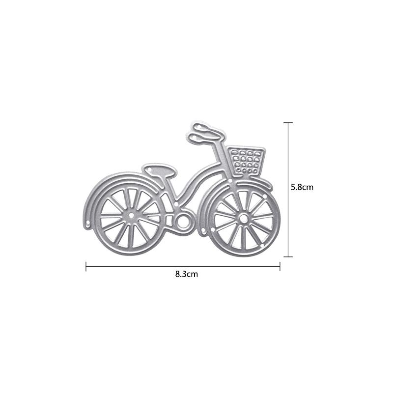 Die vélo hollandais aveec panier