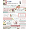 2 planches de stickers secret garden ARTEMIO