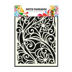 Mask art fenêtre fleurie Dutch Doobadoo