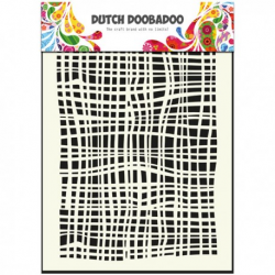 Mask art fenêtre textile Dutch Doobadoo