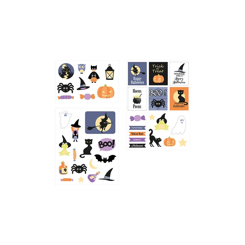 Stickers chipboard Halloween ARTEMIO