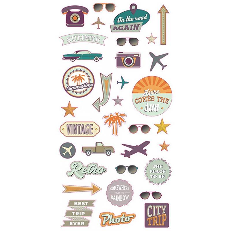 Stickers puffies Vintage ARTEMIO
