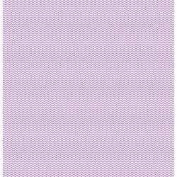 Papier recto verso Cardstock coeurs chevrons violet KESI'ART