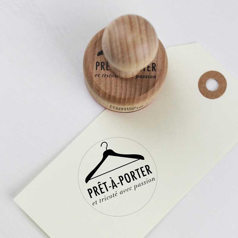 Tampon bois rétro KESI'ART Prêt à porter