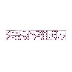 Tampon stampo maxi dominos ALADINE