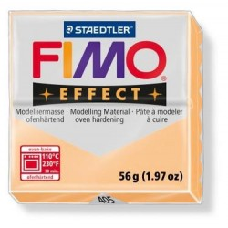 Fimo EFFECT pêche - orange pastel 56g n°405