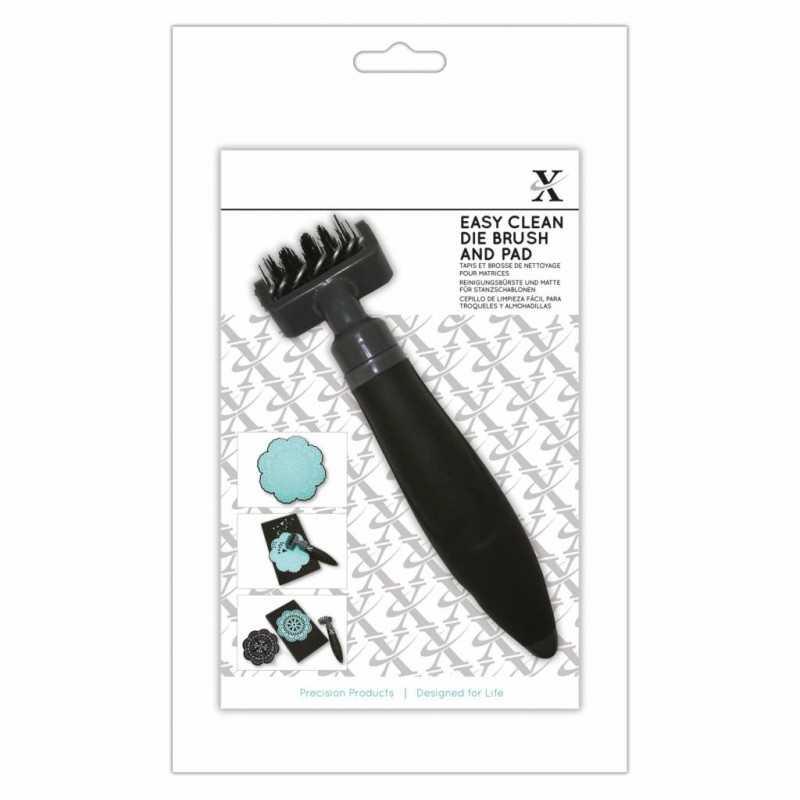 Brosse Xcut easy clean die brush and pad