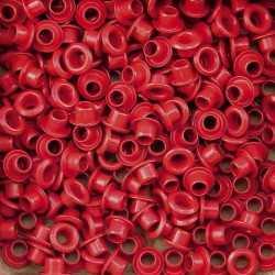 """50 Oeillets 1/8"""" rouge Vaessen creative"""