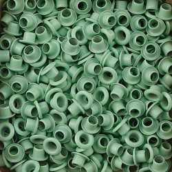 """50 Oeillets 1/8"""" vert clair Vaessen creative"""