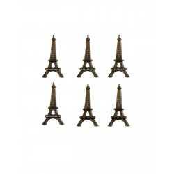 6 attaches parisiennes Tour Eiffel Vaessen Creative
