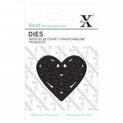 Dies Xcut - coeur filigrane DOCRAFTS