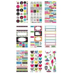 "Livret de 30 feuilles de stickers ""Viva la vida"" ARTEMIO"