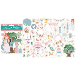 63 die cuts Stamperia Mi primera illusion nina