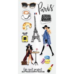 Tampon transparent Fashion Paris Hampton Art