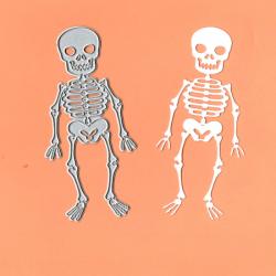 Die Halloween - squelette...
