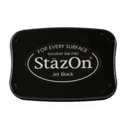 Coussin encreur noir STAZON