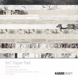Bloc de 40 feuilles Christmas edition - KAISERCRAFT