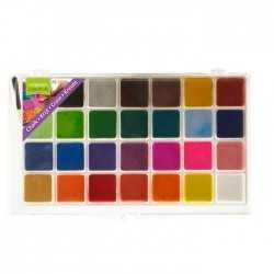 Palette de 28 craies couleurs vives - Vaessen Creative
