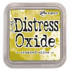 Encre Distress Crushed olive Oxide RANGER