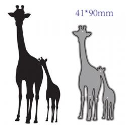Die girafeau et sa maman girafe
