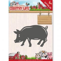 Matrice de découpe cochon