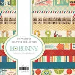 Bloc de 36 feuilles collection Souvenirs Bo Bunny