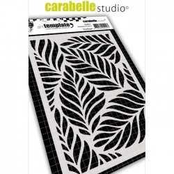 Pochoir art template feuillage - Carabelle studio