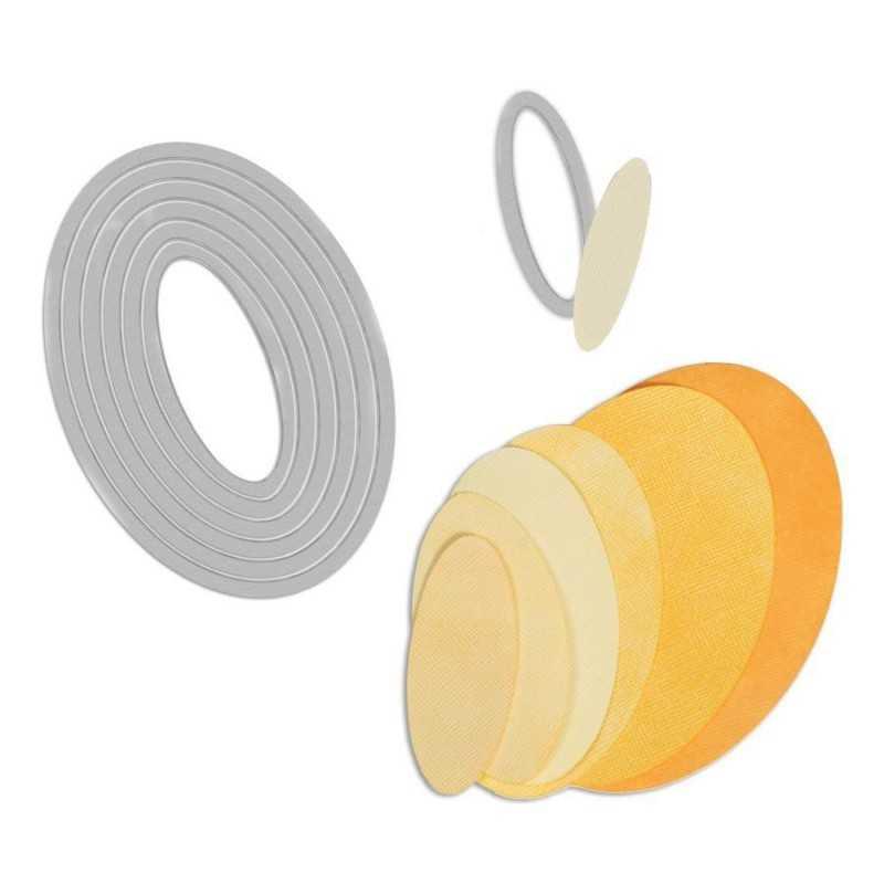 Sizzix framelits ovals