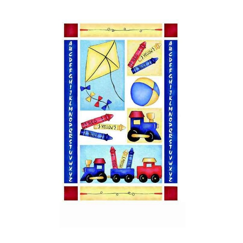 Transfert rub-on bloc jouets ROYAL
