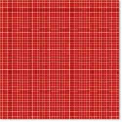 Papier 30,5cm x 30,5cm jaune et rouge