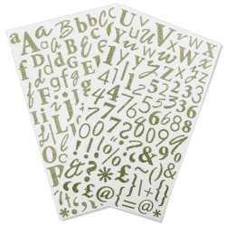 2 planches de stickers...