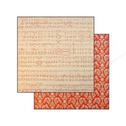 Papier recto verso musique
