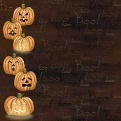 Papier 30,5cm x 30,5cm Halloween