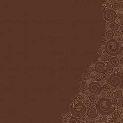 Papier 30,5cm x 30,5cm marron à spirales
